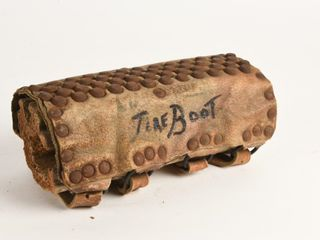 VERY EARlY ANTIQUE TIRE BOOT