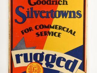 GOODRICH SIlVERTOWNS  RUGGED  S S ADVERTISING