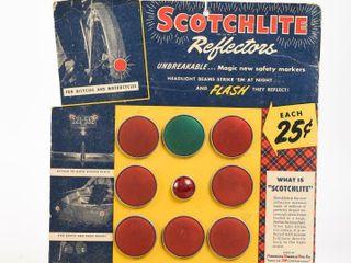 SCOTCHlITE REFlECTORS STORE DISPlAY  NOS