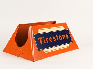 FIRESTONE S S PAINTED METAl TIRE STAND