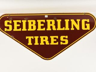 SEIBERlING TIRES SSP DIECUT SIGN