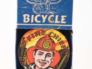 FIRE CHIEF BICYClE SIREN   BOX