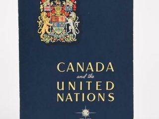 1943 GUTTA PERCHA CANADA   THE UNITED NATIONS