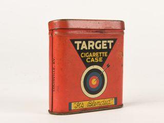 VINTAGE TARGET CIGARETTE VERTICAl POCKET POUCH