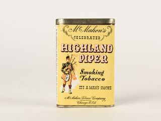 McMAHON S HIGHlAND PIPER TOBACCO POCKET POUCH
