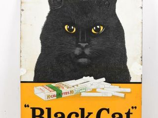 BlACK CAT  VIRGINIA TOBACCO SSP SIGN