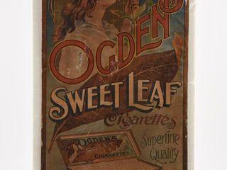 OGDEN S SWEET lEAF CIGARETTE S S ADVERTISING