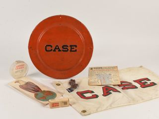 GROUPING OF VINTAGE CASE EQUIPMENT COllECTIBlES