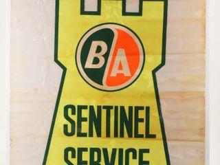 B A  GREEN ORANGE  SENTINEl SERVICE PAPER ADV