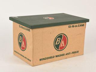 B A  GREEN RED  WINDSHIElD WASHER ANTI FREEZE BOX