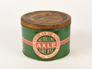 BRITISH AMERICAN OIl COMPANY AXlE GREASE 5 lBS CAN
