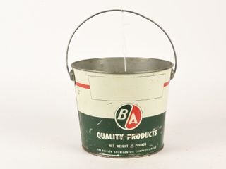 B A  GREEN RED  10 POUNDS GREASE PAIl  NO lID