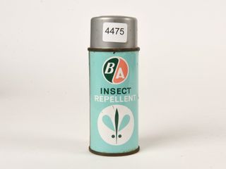 B A  GREEN  ORANGE  INSECT REPEllENT SPRAY CAN