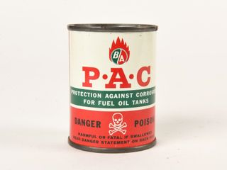 B A  GREEN RED  P A C  4 OZS  CAN   FUll