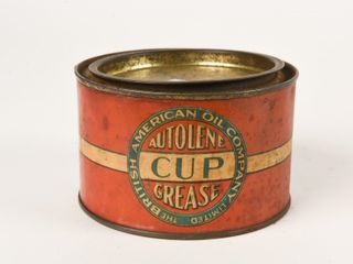 BRITISH AMERICAN AUTOlENE CUP GREASE lB  CAN