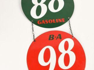 lOT OF 2 B A 88   98 GASOlINE SSP PUMP PlATES