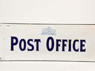 POST OFFICE SSP CONVEX SIGN