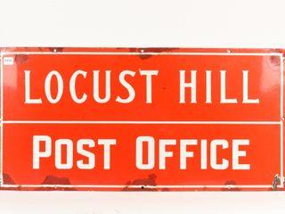 lOCUST HIll ONTARIO POST OFFICE SSP SIGN