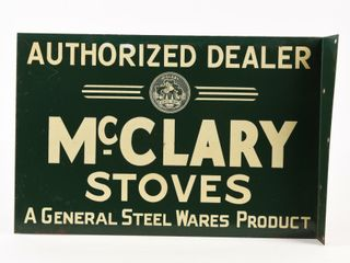 AUTHORIZED DEAlER McClARY STOVES METAl FlANGE