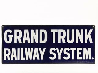 GRAND TRUNK RAIlWAY SYSTEM DSP SIGN
