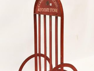 RARE CANADIAN TIRE CORP  STORE METAl BICYClE STAND