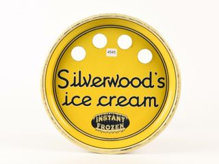 SIlVERWOOD S ICE CREAM S S METAl SERVING TRAY