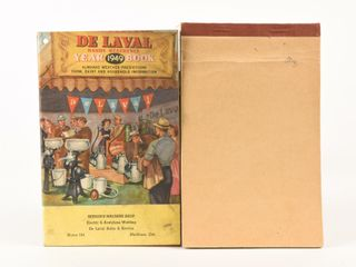 lOT OF 2 DE lAVAl REFERENCE   SAlES BIll BOOKlET