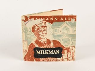 1950 CANADIANS All MIlKMAN HARD COVERED BOOK