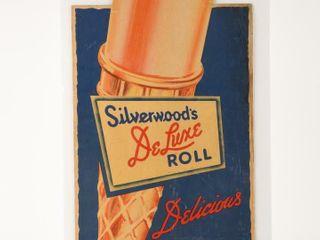 SIlVERWOOD S DElUXE ROll ICE CREAM S S ADVERTISING