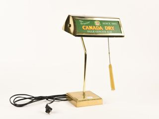 VINTAGE CANADA DRY GINGERAlE ElECTRIC ADV  lIGHT