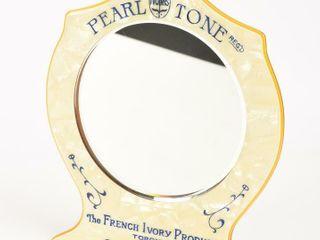 RARE PEARl TONE IVORIS REG D FRENCH IVORY MIRROR