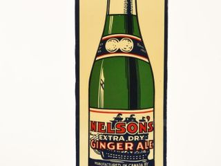 NEIlSON S EXTRA DRY GINGERAlE SST SIGN  CUTOUT