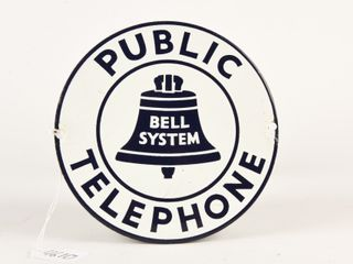 PUBlIC TElEPHONE BEll SYSTEM SSP SIGN