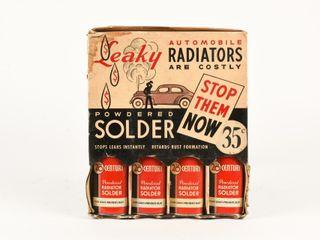 1930 S lIQUID SOlDER TINS COUNTER DISPlAY