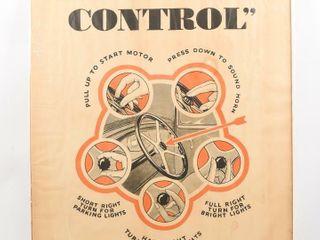 CAR FINGER  TIP CONTROl PAPER ADVERTISING