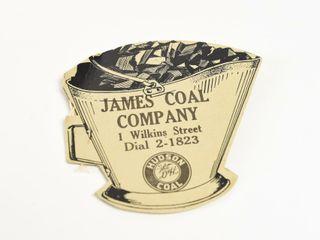 JAMES COAl COMPANY CARDBOARD SEWING GIVEAWAY