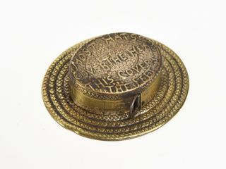 MOST HATS COVER THE HEAD  ADV  TAPE MEASURE