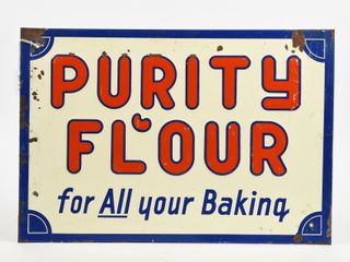 PURITY FlOUR  FOR All YOUR BAKING  SST SIGN