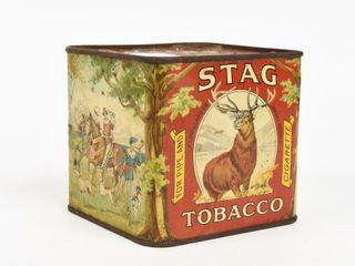 RARE STAG TOBACCO FOR PIPE   CIGARETTE CAN