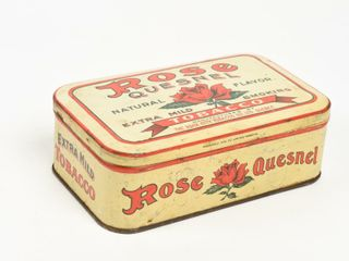 ROSE QUESNEl SMOKING TOBACCO STRONG BOX