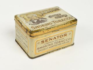 SENATOR SMOKING TOBACCO FOR PIPE USE SMAll CHEST