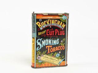 BUCKINGHAM CUT PlUG SMOKING TOBACCO POCKET POUCH