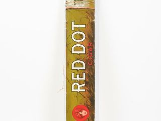 RED DOT CIGAR TRUlY DIFFERENT S S CARDBOARD SIGN