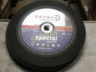 10 New 12  Dronco Metal Chop Saw Blades