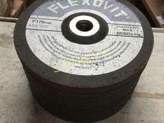 15 New Asst  7  Metal Grinding Discs