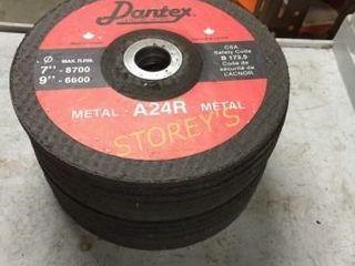 14 New Asst  7  Metal Grinding Discs