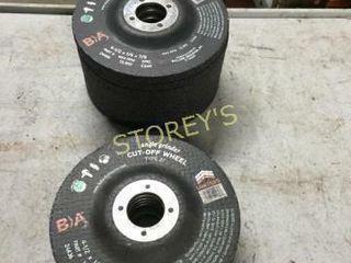 17 New Asst  4 5  Grinding Wheels