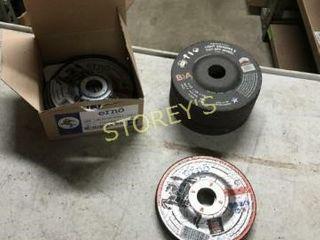 22 New Asst 4 5  Grinding Wheels