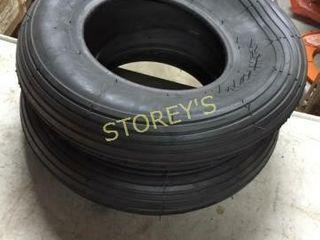 3 New Wheel Barrel Tires   4 80 x 4