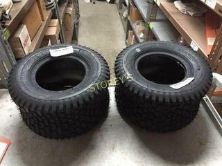 2 New lawn Mower Tires   13 x 6 5 x 6
